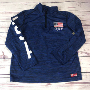 Kid's Team USA Olympic light pullover